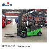 Un lato delle quattro rotelle da parteggiare mini carrello elevatore elettrico di Empilhadeira 2.5t
