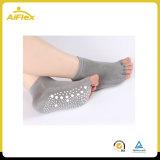Non chaussettes de yoga de dérapage de glissade