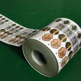 Impresora rotatoria de la escritura de la etiqueta de Digitaces