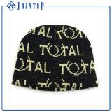 Nuevo caliente negro vender 2017 Tejer Beanie Hat
