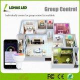 5 Вт Светодиодные лампы с регулируемой яркостью GU10 RGBW WiFi Smart работы лампы с Amazon Alexa/Tuya/Google Главная