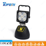 15W lampada portatile ricaricabile magnetica del lavoro dell'inondazione LED