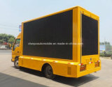 6 Ruedas JAC Vehículo de publicidad móvil con pantalla LED de colores