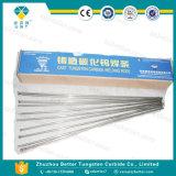 鋳造物の炭化タングステンの溶接棒か投げられた炭化タングステンの粉を満たすことを用いる集結溶接棒