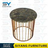Hauptmöbel-Spiegel-Tisch-Stahlkaffeetisch-kleiner seitlicher Tisch