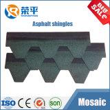 Einfach bunten Asphalt-Schindel des Dach-3-Tab installieren