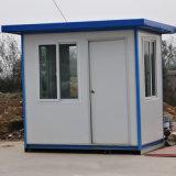Het prefab Huis/het Geprefabriceerd huis van de Politie van de Wacht van /Prefabricated van het Huis van de Container van de Cabine van de Doos van /Sentry van het Huis van de Wacht Beweegbare