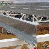 Purlins d'acciaio galvanizzati della sezione del tetto Z del metallo