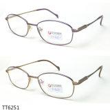 De beste Verkopende Optische die Frames van het Ontwerp van Titanium (TT 6251) worden gemaakt