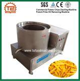 Cadena de producción industrial de las patatas fritas de la fuente de la fábrica