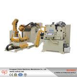 Uncoiler y enderezar el alimentador servo 3 del Nc de la enderezadora de Decoiler de la máquina en 1 máquina (MAC4-800F)