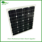 25 anni di comitato solare monocristallino 50W della garanzia per la casa