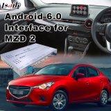 16GB 14-17 Mazda 2 의 영상 공용영역을%s 저속한 차 인조 인간 6.0 GPS 항법