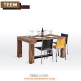 Mesa De Comedor Extensible de acero blanco