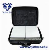 Teléfono celular Portátil Jammer (Centro de agarrotamiento de potencia de RF + bolso de diseño)