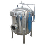 Filtration multi de liquide de boîtier de filtre à manches d'acier inoxydable