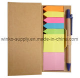 Eco personnalisé Hot-Selling Sticky note définit avec boîte Mémo