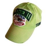 Chapéu verde do paizinho com logotipo feito sob encomenda Gj1709