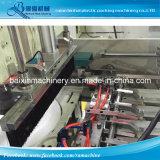 Doppelte Zeilen heißer Cuting HDPE Weste-Shirt-Beutel, der Maschine herstellt