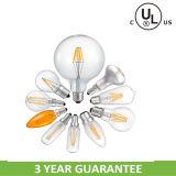 Haute qualité DIY G125 6W Filament LED pour Décoration