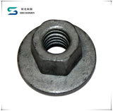 新しい優れたボルトナットのハードウェア製品の真鍮の十六進ナットの亜鉛によってめっきされるM4十六進ナットDIN934