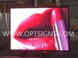 Rimorchio esterno montato facendo pubblicità ai video segni mobili commerciali portatili di colore completo LED
