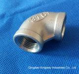 La réduction de coude de 90 en acier inoxydable