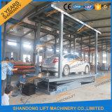 二重デッキは駐車またはガレージのための車の上昇のプラットホームを切る
