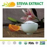Édulcorant organiques enzymatiquement Extrait de Stevia modifiés pour les jus en poudre