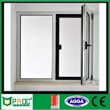 Schwingen-Öffnungs-Aluminiumflügelfenster Windows mit ausgeglichenem Glas Pnoc0026cmw