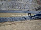 Venta caliente Piscifactoría Pond Liner Negro Geomembrana HDPE