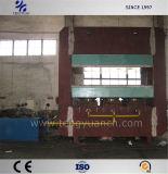 Pressão da grande imprensa vulcanização da borracha para produção de tapetes de borracha