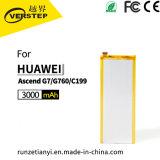 Batería al por mayor del teléfono móvil de 3.8V 3000mAh para la batería del Li-Polímero del teléfono celular del G7 C199 G760 Hb3748b8ebc de Huawei