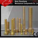 ISO CertificateのDIN933 DIN931 Asme Brass Hex Cap Screw