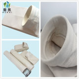 Sacchetto filtro della polvere della pianta del cemento di poliestere, Aramid, materiale della fibra di vetro