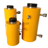 Tonelagem de elevada rapidez de ação dupla de retorno de óleo do cilindro hidráulico