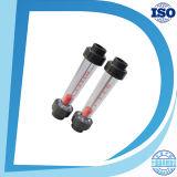 Gravitys en plastique de la soude caustique du tube à embase de 3 pouces de débitmètre
