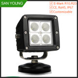 Flush Mount 16W CREE LED Work Light Off Road Truck