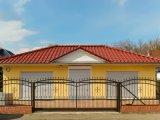 Diseños decorativos clásicos de la puerta del hierro labrado