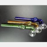 une série de couleurs de la reprise en verre de pétrole de filtre de garnitures de pipe