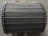 nastro trasportatore di collegamento Chain della rete metallica dell'acciaio inossidabile 304 316