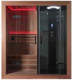 Factory Direct 7-LED de couleur super salle de douche avec sauna à vapeur