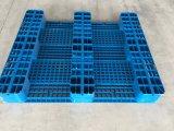 1250*1000mm paletes de plástico de HDPE, Caixa de paletes plásticos, porta-paletes para Rack
