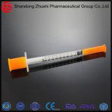 Special descartável médico da seringa 1cc da venda quente para o Insulin