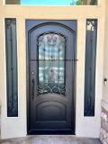 كلاسيكيّة تصميم عالة حديد أبواب جبهة مظهر خارجيّ لأنّ منزل جميل