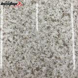 대양 벽 클래딩을%s 회색 인공적인 돌 색깔 석영 석판
