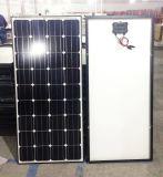 preço de fábrica 150W Preto e azul do painel solar Poly Mono