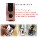 Doorbell video sem fio do telefone da porta de WiFi da câmara de segurança Home