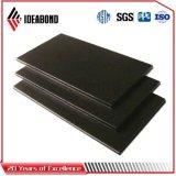 El panel de aluminio compuesto del negro 3m m de Ideabond del contador blanco del espesor (AE-39A)