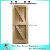 단 하나 헛간문 형 문 단단한 나무 문 PVC 문